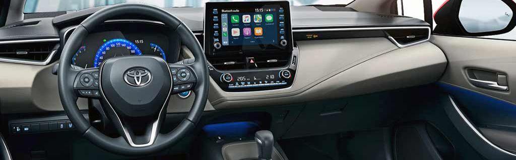 Rent a Car Toyota Corolla 2021 in Baku