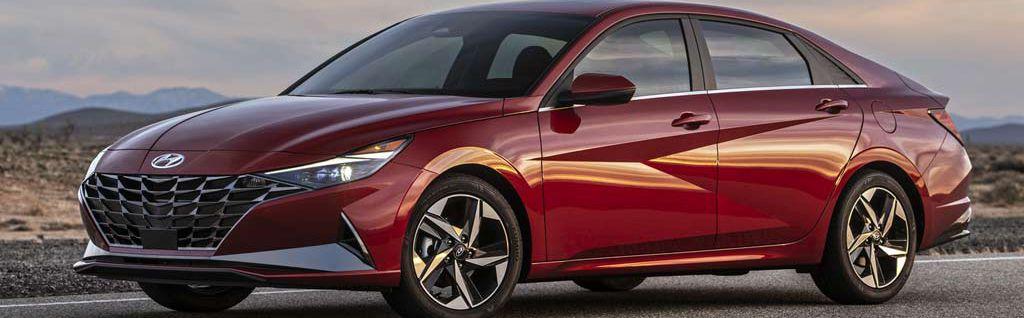 Rental Hyundai Elantra 2021 in Baku