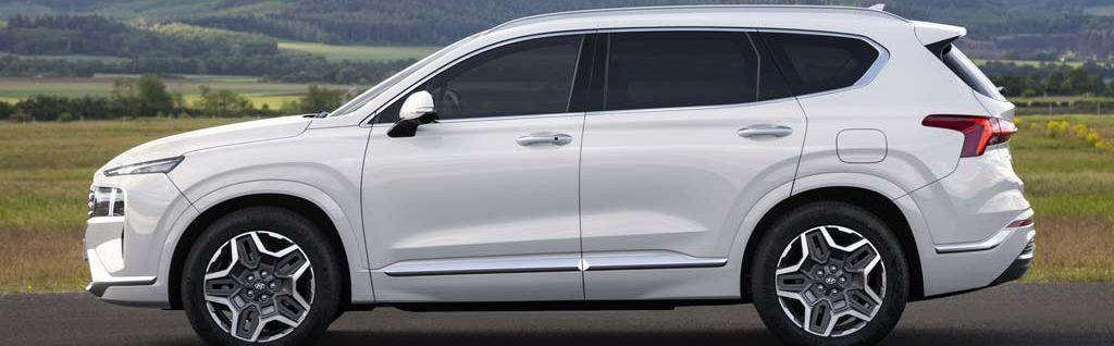 Rental Hyundai Santa Fe 2021 in Baku