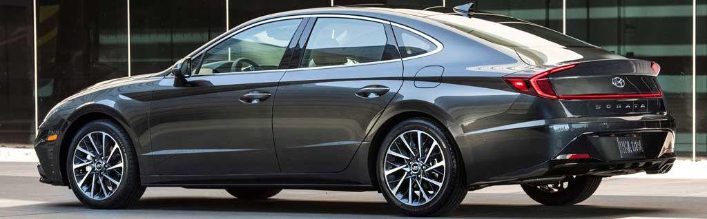 Rental Hyundai Sonata 2021 in Baku