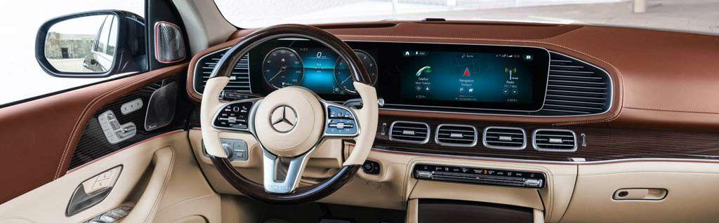Rental Mercedes-Maybach GLS 600 in Baku